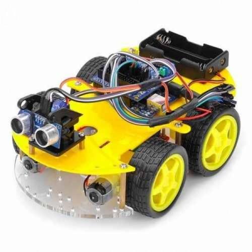 Arduino. Дистанционно управляемая робот-машинка