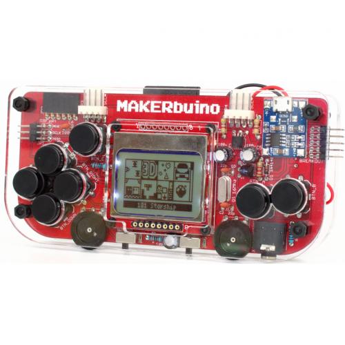 MAKERbuino. Игровая консоль — конструктор STEM