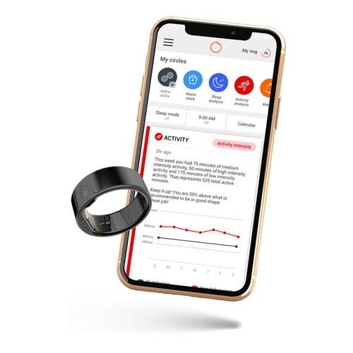 Умное фитнес-кольцо с персональным помощником. Circular