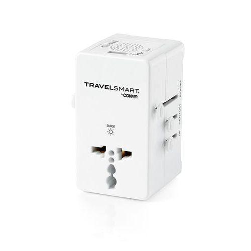 Универсальный адаптер с успокаивающими звуками. Conair Travel Adapter with Relaxing Sounds