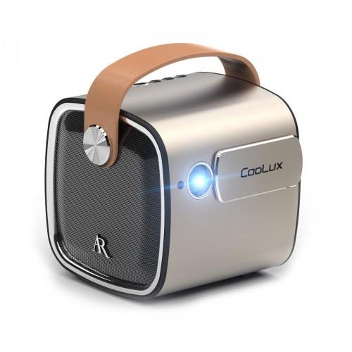 Портативный проектор с динамиком. Coolux R4mini