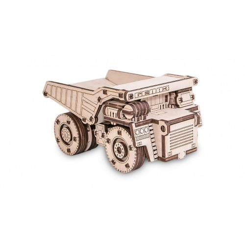 Eco Wood Art Belaz Mini. 3D-конструктор самосвала Белаз Мини