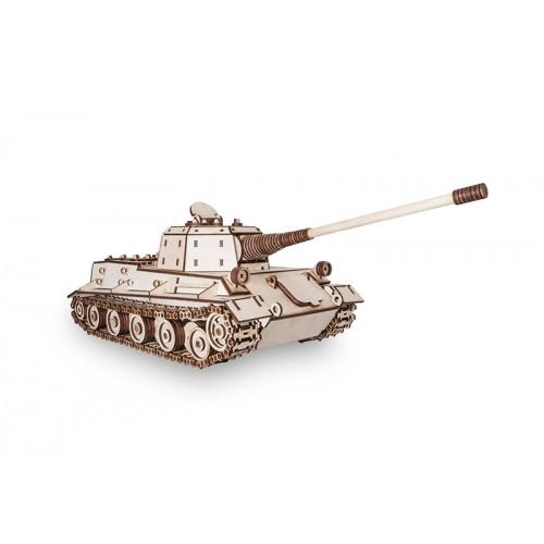 Eco Wood Art TANK LOWE. 3D-конструктор танка Лев