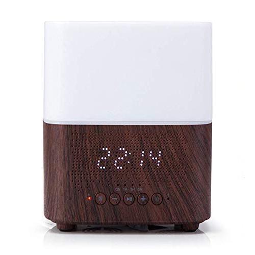 Аромадиффузор с динамиком, подсветкой и часами. Fyng Aromatherapy Diffuser
