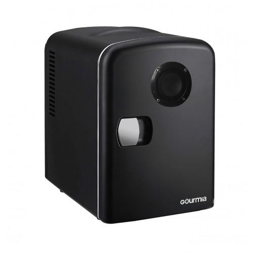 Мини-холодильник с функцией подогрева и динамиком. Gourmia GMF668