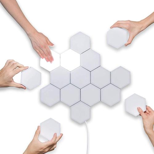 Сенсорное модульное освещение. POLYGON Light Tiles