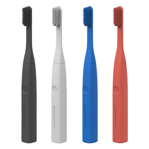 Силиконовая электрическая зубная щетка. PomaBrush