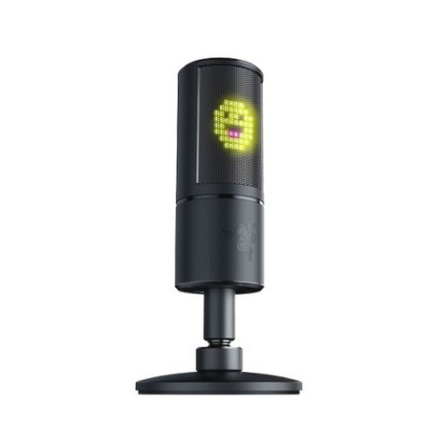 USB-микрофон со смайлами для стрима. Razer Seiren Emote