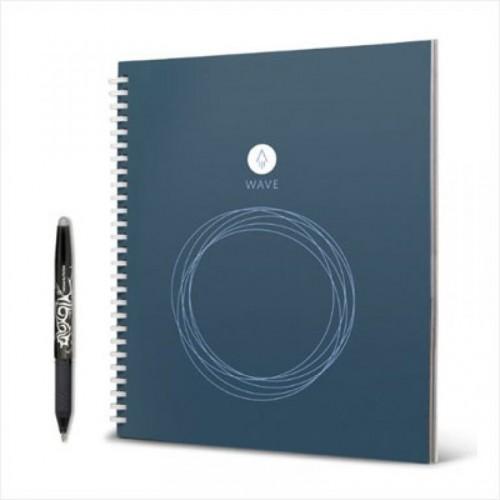 Rocketbook Wave Smart Notebook. Универсальный многоразовый умный блокнот