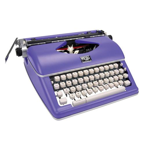 Винтажная механическая печатная машинка. Royal Classic