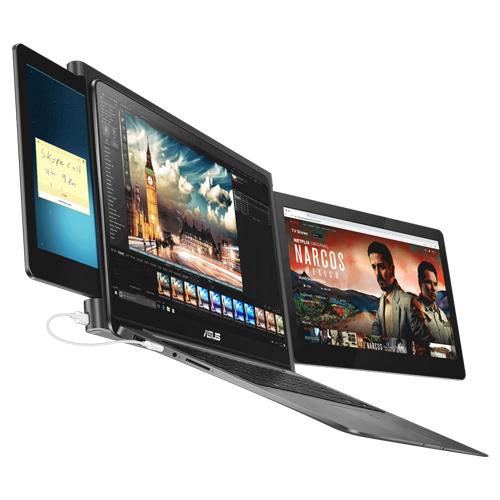 Дополнительные экраны для ноутбука. Slidenjoy Le Slide